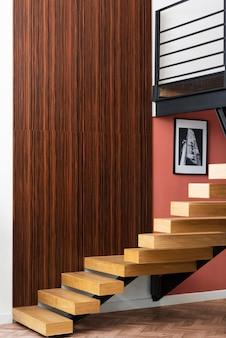 Escadas de design de interiores para casa