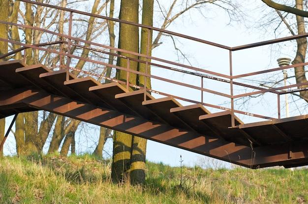 Escadas de metal para lviv