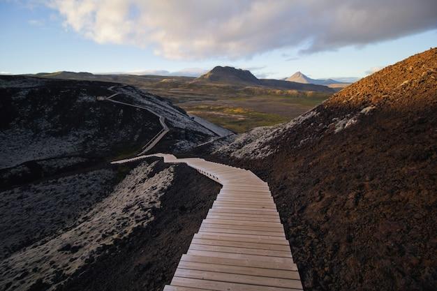 Escadas naturais