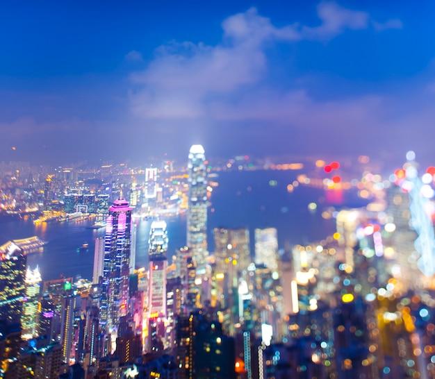 Escapadela da cidade de hong kong