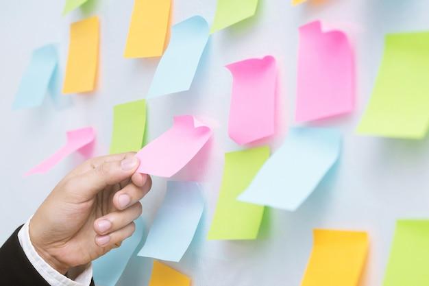 Escolha um bloco de notas para lembrar a memória