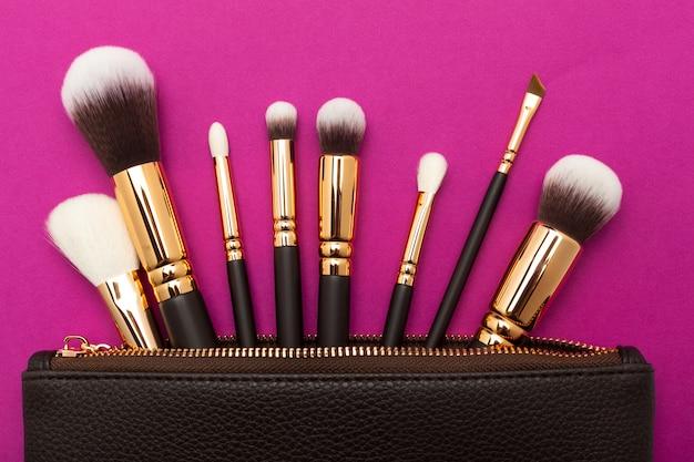 Escova de maquiagem profissional