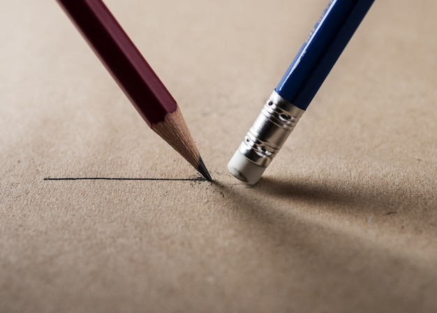 Escreva e apague o conceito