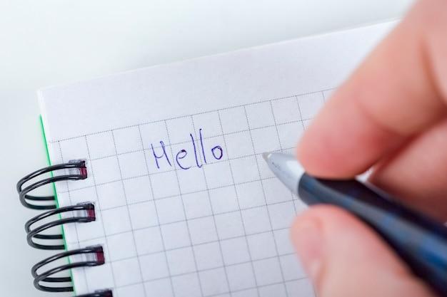 Escrever carta para alguém que é tão especial para você, sinta amor, ame alguém, objeto