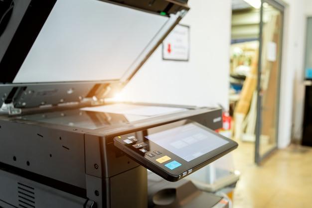 Escritório do laser do varredor da impressora