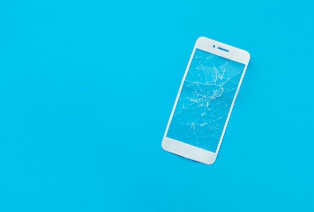 Escudo de vidro temperado rachado, capa de tela de filme para telefone celular