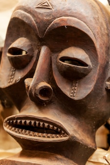 Esculturas pinturas quênia máscaras africanas máscaras para cerimônias, lembranças, máscaras de madeira feitas à mão