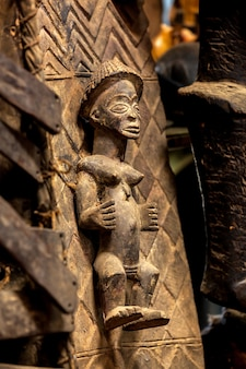 Esculturas pinturas quênia máscaras africanas máscaras para lembranças de cerimônias feitas à mão