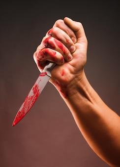Esfaqueamento sangrento