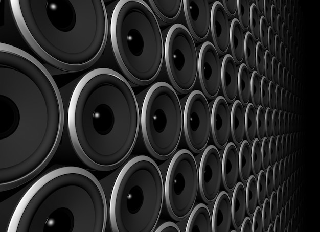 Esfera de alto-falantes