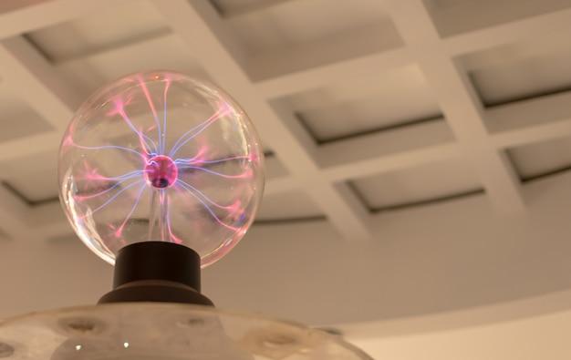 Esfera de plasma elétrico