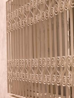 Esgrima de ferro decorativo em kusadasi turquia
