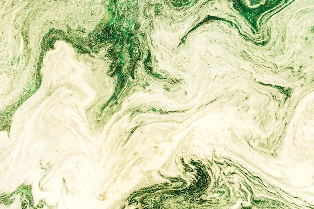 Espaço abstrato cópia verde e branco padrão