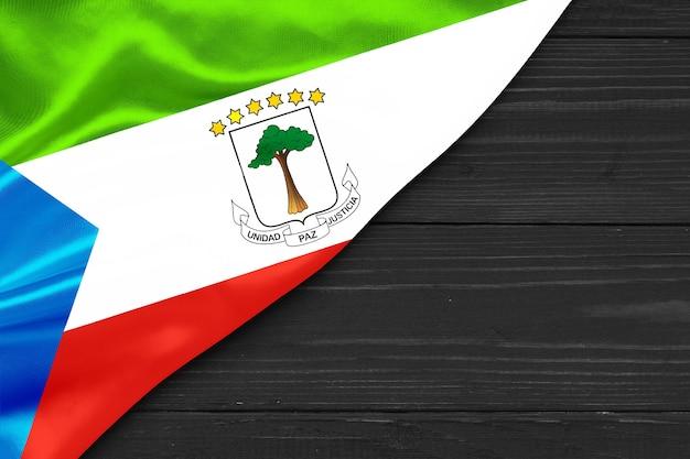 Espaço da cópia da bandeira da guiné equatorial
