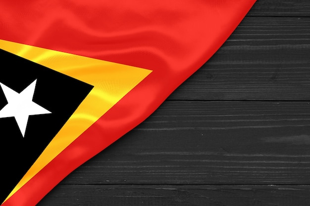 Espaço da cópia da bandeira de timor leste