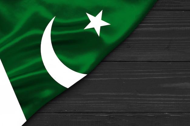 Espaço da cópia da bandeira do paquistão