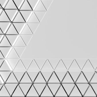 Espaço da cópia do fundo das formas poligonais