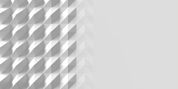 Espaço de cópia de fundo de formas geométricas