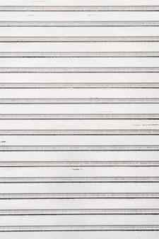 Espaço de cópia de fundo de parede de metal de aço