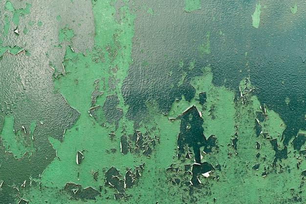 Espaço de cópia de parede enferrujado e arranhado