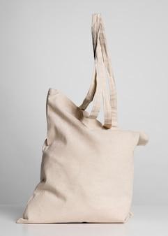Espaço de cópia de sacola de tecido