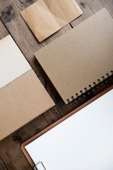 Espaço de design em papel