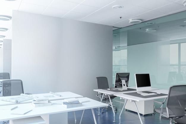 Espaço de escritório de trabalho