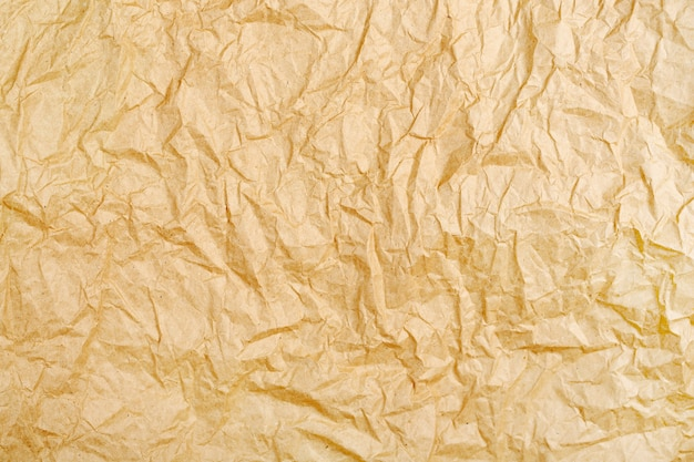 Espaço de textura de papel amassado