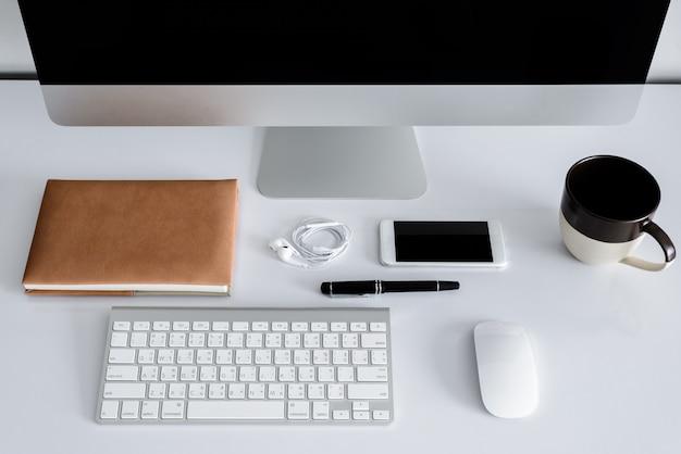 Espaço de trabalho ou plano de fundo