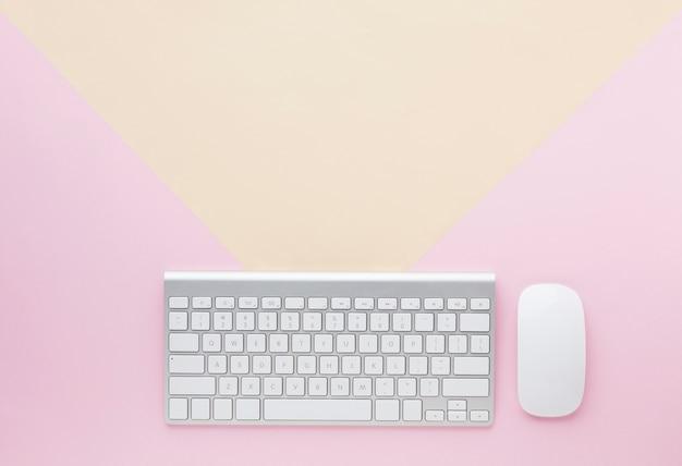 Espaço do teclado e cópia