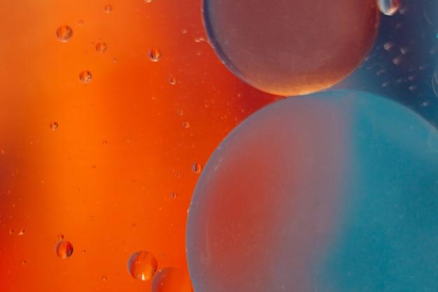 Espaço ou planetas universo cósmico fundo abstrato molécula abstrata água