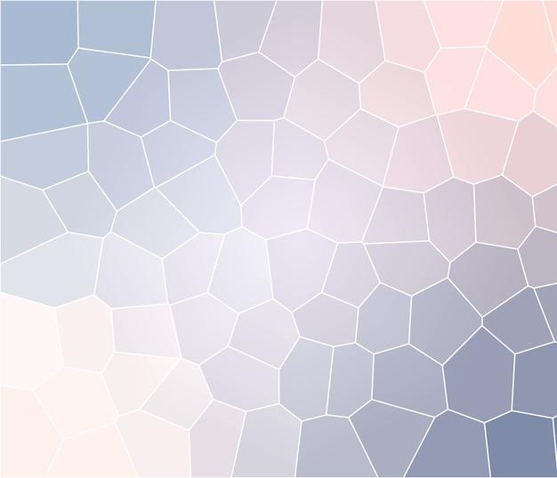 Espaço vazio de fundo de mosaico bege azul