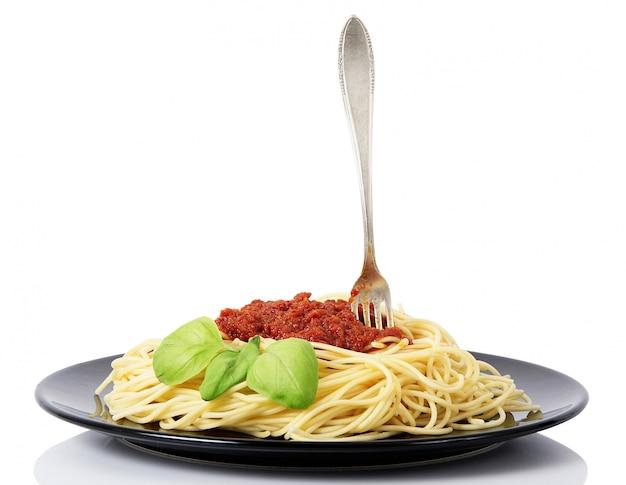 Espaguete com molho de carne