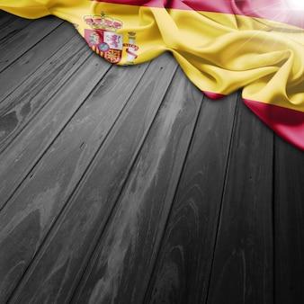 Espanha fundo da bandeira