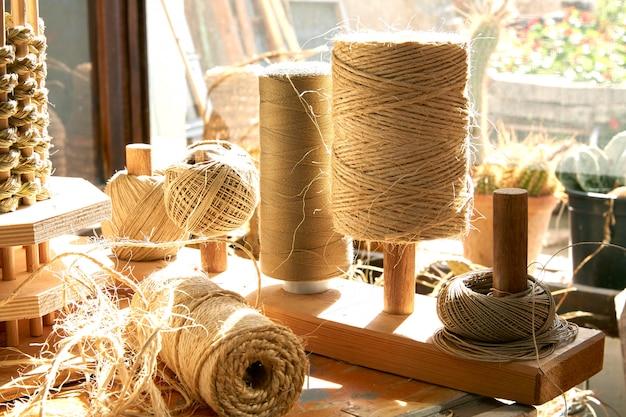 Esparto halfah grama usada para cestaria de artesanato