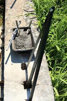 Espátula de argamassa de cimento