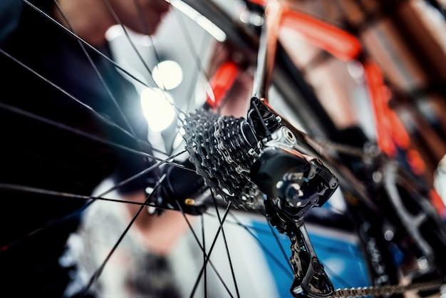 Especialização técnica em loja de bicicletas