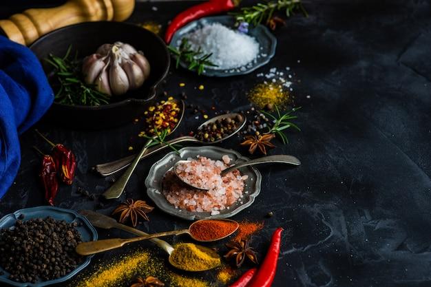 Especiarias como um conceito de culinária