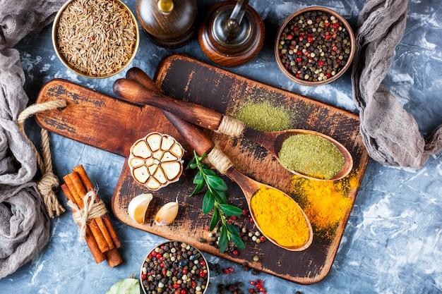 Especiarias e condimentos para alimentos