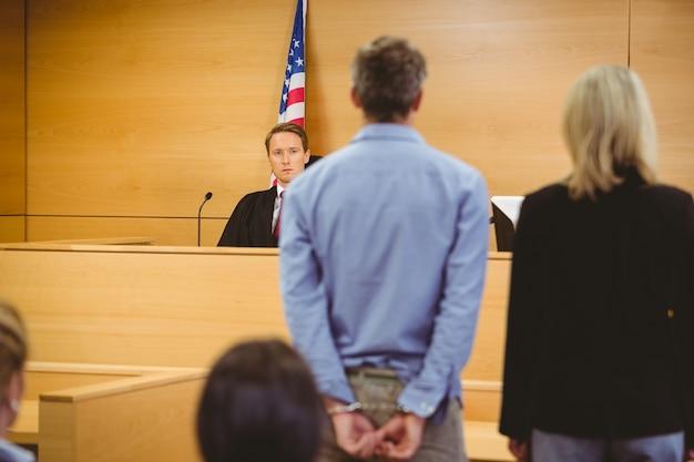Espera criminal por julgamento de tribunais