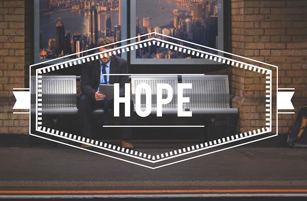 Esperança fé imagine missão acreditar