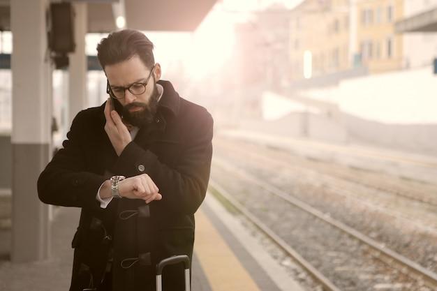 Esperando o trem