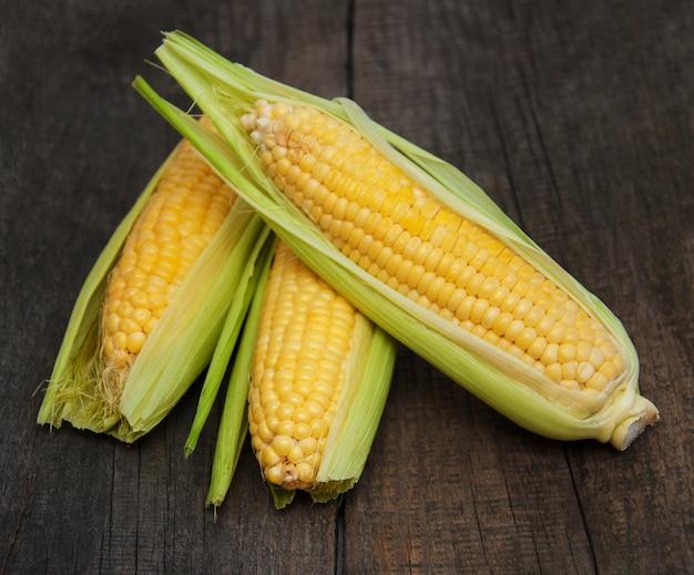 Espiga de milho fresca