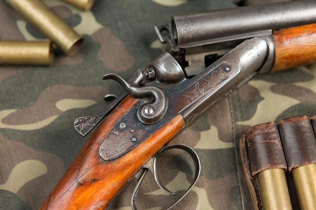 Espingarda, cartuchos de caça, munições de caça