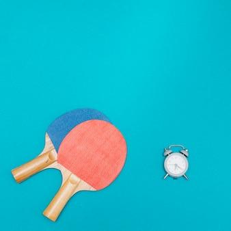 Esporte conjunto para jogar ténis de mesa