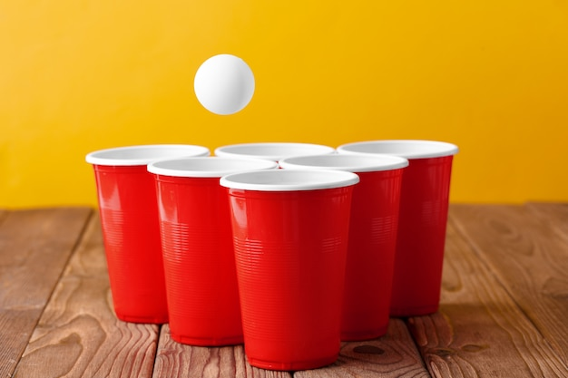 Esporte de festa da faculdade