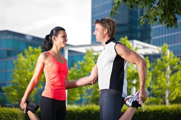 Esportes urbanos - fitness na cidade
