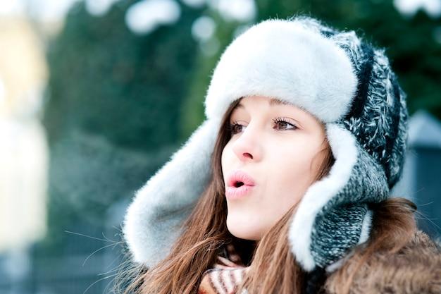 Está tão frio lá fora!