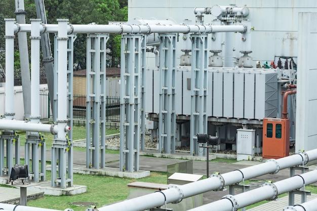 Estação de distribuição de energia