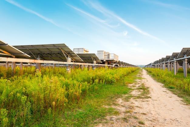 Estação de energia fotovoltaica